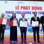 Bộ Tài Nguyên & Môi trường phát động phong trào 'Chống rác thải nhựa' trên toàn quốc
